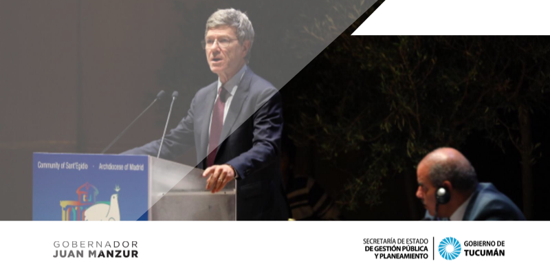 """Jeffrey Sachs: """"Debemos recuperar el control de la economía para que sirva al pueblo y no a la minoría"""""""